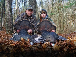 Father Son Turkey Hunt_Spring 2013